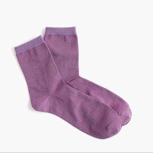 J. Crew Accessories - 3/$30 - NWT J. Crew Space Dye Lurex Bootie Socks